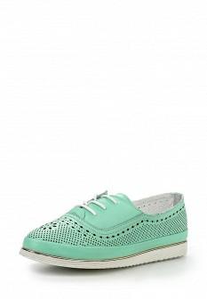 Женские мятные ботинки