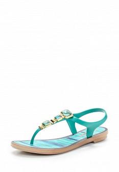 Женские зеленые сандалии Grendha