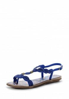 Женские синие сандалии Grendha