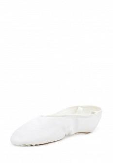 Женские белые осенние кожаные текстильные балетки