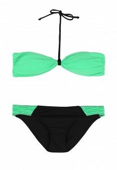 Зеленый черный купальник Grishko