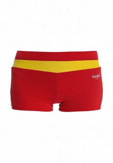 Женские красные спортивные шорты