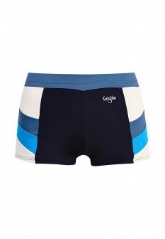 Женские синие осенние спортивные шорты