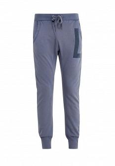 Мужские синие осенние брюки GUESS