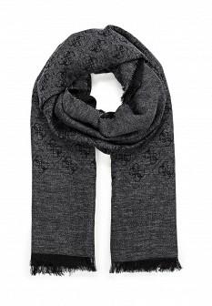 Женский серый итальянский осенний шарф