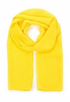 Женский желтый шарф