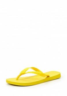 Женские желтые летние шлепанцы