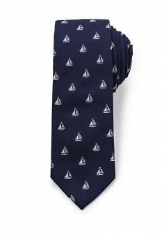 Мужской синий галстук MANGO MAN