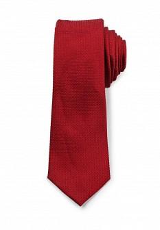 Мужской бордовый галстук