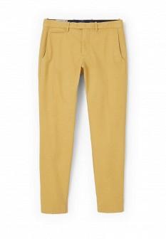 Мужские желтые брюки MANGO MAN