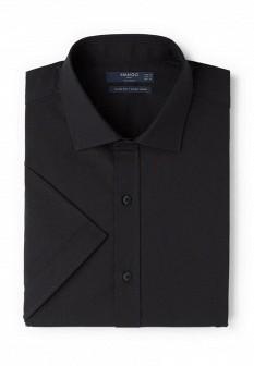 Мужская черная рубашка MANGO MAN