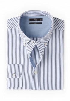 Мужская синяя рубашка MANGO MAN