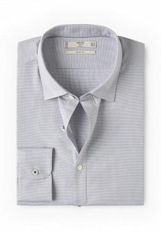 Мужская серая рубашка MANGO MAN