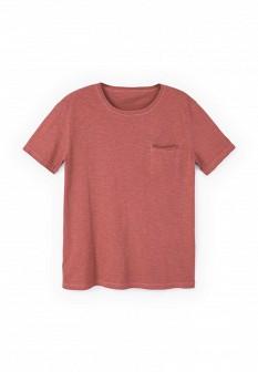 Мужская коралловая футболка