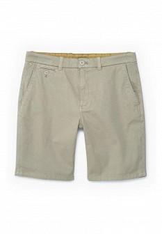 Мужские бежевые шорты MANGO MAN