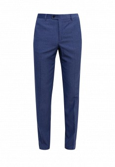 Мужские синие осенние брюки MANGO MAN