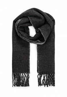 Мужской серый осенний шарф MANGO MAN