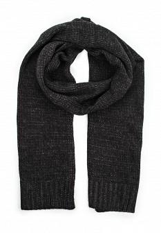 Мужской черный осенний шарф MANGO MAN