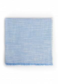 Мужской голубой шарф MANGO MAN
