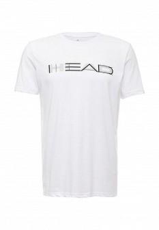 Мужская белая осенняя футболка