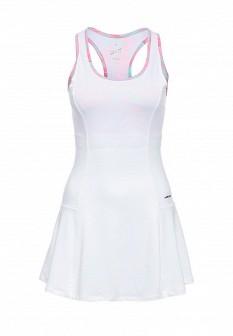 Белое осеннее платье HEAD