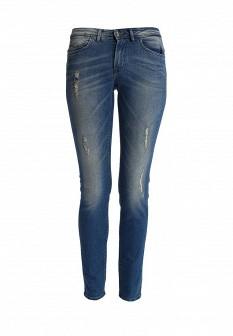 Женские синие осенние джинсы