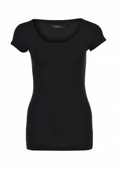 Женская черная футболка ICHI