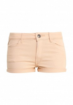 Женские оранжевые джинсовые шорты