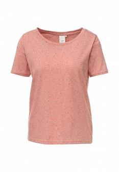 Женская розовая футболка ICHI