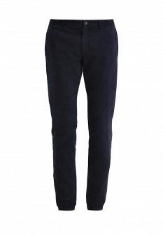 Мужские синие осенние брюки