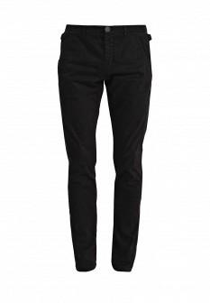 Мужские черные итальянские осенние брюки