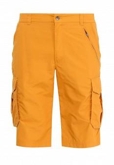 Мужские желтые спортивные шорты