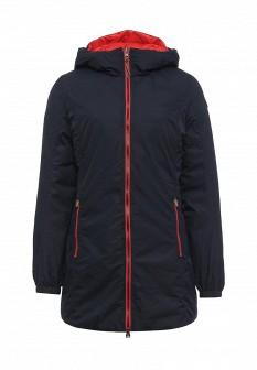 Женская красная синяя утепленная осенняя куртка