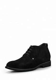 Мужские черные осенние классические ботинки
