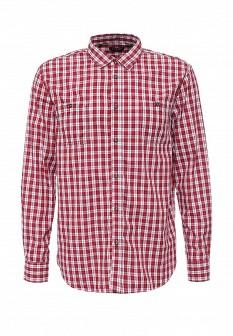 Мужская красная осенняя рубашка