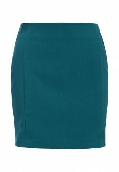 Зеленая синяя юбка INCITY