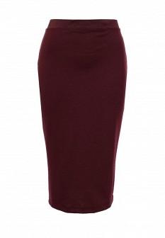 Бордовая юбка INCITY
