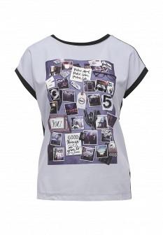 Женская фиолетовая футболка