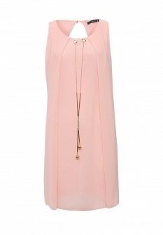 Розовое итальянское платье INCITY