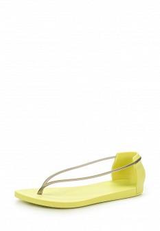 Женские зеленые сандалии