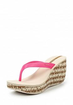 Женские розовые сабо на каблуке