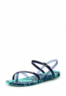 Женские синие сандалии Ipanema
