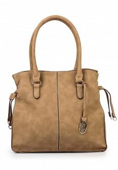 Женская бежевая сумка Jane Shilton