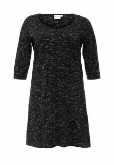 Черное платье JUNAROSE