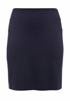 Синяя осенняя юбка JUNAROSE