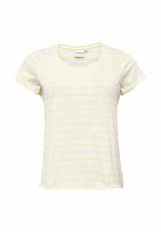 Женская желтая футболка JUNAROSE