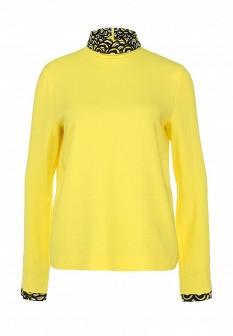 Желтая итальянская осенняя блузка
