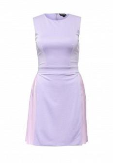 Фиолетовое итальянское платье