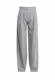 Женские серые итальянские осенние брюки