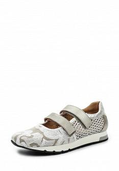 Женские испанские кожаные кроссовки